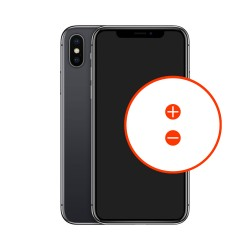 Wymiana przycisków głośności iPhone X