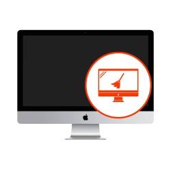 Czyszczenie matrycy z kurzu Apple Display