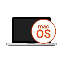 "Instalacja systemu Macbook Pro Unibody 15"""