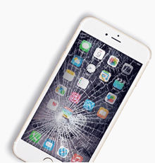 Zbita Szybka iPhone